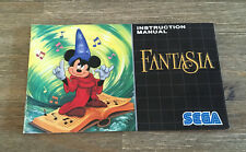 Fantasia -- Mega Drive -- Instruction Manual Only