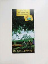 Freizeitpark - Walibi Rhone Alpes - Prospektmaterial - 1995