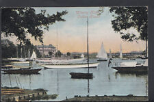 Suffolk Postcard - Wherry Hotel, Oulton Broad   RS5584