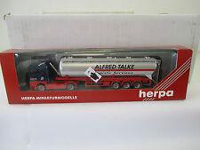 "Herpa 1/87 146623 Man tga XL Silo-remolcarse ""TALKE"" ws5465"