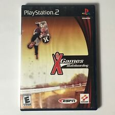 X Games Skateboarding Ps2 Great condition (No Manual) Tested
