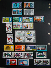 GB 1966 Commemorative Stamps, Year Set~Unmounted Mint~UK Seller