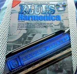 Progressive Blues Harmonica,2012 Book & CD.