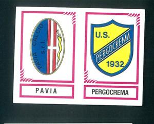 Fig. Calciatori Panini 1982-83 N.580 Scudetti Pavia/Pergocrema Nuova!!