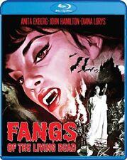 FANGS OF THE LIVING DEAD New Sealed Blu-ray Anita Ekberg Amando de Ossorio