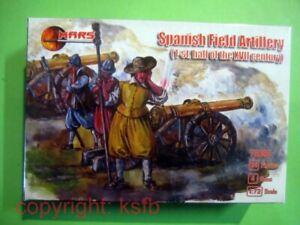 1:72 Mars Figuren #092 30jähriger Krieg Spanien Feld Artillerie Kanone + Crew