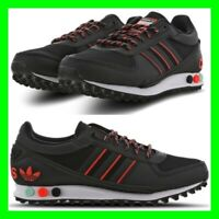 Adidas LA Trainer Trefoil Mens Size 6.5-11.5 Trainers Sneaker Leather Shoes NEW