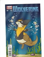 Marvel Comic Wolverine NOW!  #001 VF/NM Cook Animal Variant cover