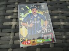 Panini Adrenalyn XL Champions League 2011/2012 Diego Milito Limited Edition Card