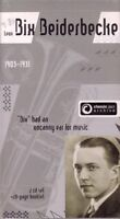 BIX BEIDERBECKE - Classic Jazz Archive (Double CD Set) NEW & SEALED