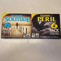 Legends Of The Peril Solitude 2 PC DVD-ROM 6 Packs 12 Hidden Object Games 2016