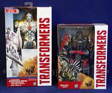 New 2 TRANSFORMERS Age Distinction FIGURES - SLOG & Silver Knight OPTIMUS PRIME