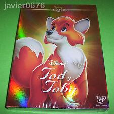 TOD Y TOBY CLASICO DISNEY NUMERO 24 - DVD NUEVO Y PRECINTADO SLIPCOVER