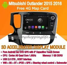 Android Multimedia Player for Mitsubishi Outlander 2015 2016 DVD GPS Navi Radio