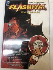 The Worlds Of Flashpoint Featuring Batman  (2012) DC Comics TPB SC B. Azzarello