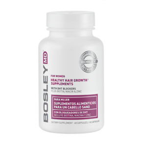 Bosley Healthy Hair Growth Supplement for Women - 60 Count