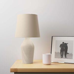 Beautiful Modern Table Lamp UK SELLER Ceramic Hummus Living Room Bedside Lamp