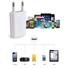 2 Pin European USB Power Adapter EU Plug Wall Charger For iPhone/iPad/Samsung/LG