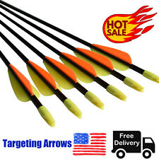 Targeting Arrows for Recurve Bow Compound Bows Archery Shooting Practice 26-30in