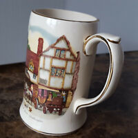 SADLER ENGLAND Beer Stein Old Coach House-WOOLHAMPTON Mancave Display Centerpiec