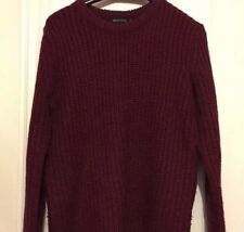 Brave Soul Red Knitted Jumper Size S (8-10)