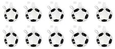 10 pack football shape drinks containers 480ml sports belt clip metal carabiner