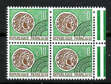 France Préoblitéré Bloc de 4  n° 123 Neuf  ★★ luxe   1964