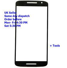 Para Motorola Google Nexus 6 XT1100 XT1103 Cristal Exterior Frontal Pantalla Táctil Negro