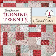 ORIGINAL TURNING TWENTY 20 Fat Quarters Fast Quilt Projects NEW BOOK Friendfolks