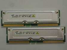 1GB 2x512MB Samsung RDRAM Rambus PC1066-32 1066-32P 4 Dell Gateway IBM Compaq HP
