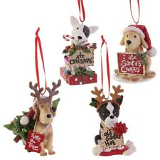 """Doggone Christmas"" Whimsical Ornament"