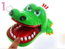 Jouet de Crocodile Plastique Vert Pour Enfants / Ne Pas Mordu!/Amusement Jeux