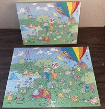 Vintage Springbok Puzzle Sunday In The Park With Dad Steve Skelton Fathers Day