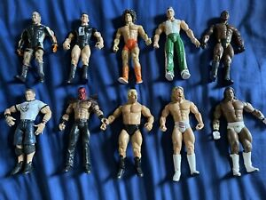 42 WWE Loose Figurines *List In Description*
