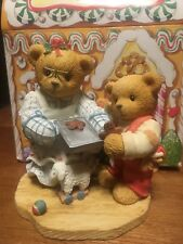 Cherished Teddies Pamela & Grayson-A Dash Of Love To Warm 352616 Nib