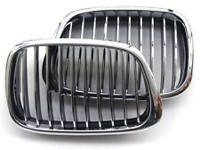 BMW 5 2000-2004 E39 Facelift Front CHROME Grille GRILLS M5