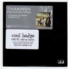 (EZ729) Tinariwen, Imidiwan Ma Tenam - 2011 DJ CD