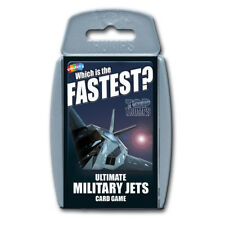 Top Trumps Ultimate Military Jets NEW
