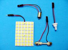 Ford Linc Merc 48 LED Panel Wedge BA9S Bayonet Courtesy Dome Light Bulb Festoon