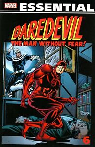 Essential Daredevil Volume 6 GN Bullseye Buscema Wolfman Kane Byrne OOP New NM