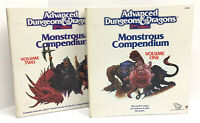 Advanced Dungeons & Dragons 2nd Edition Monstrous Compendium Volume 1 & 2