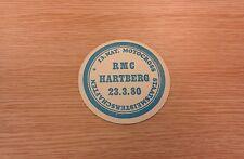 Motorcoss - RMC Hartberg - Beermat - 1980