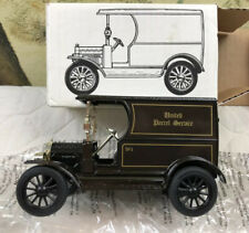 Ertl Die cast Metal 1913 Ford Model T Toy Truck UPS United Parcel Service Bank