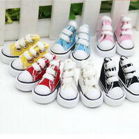 5cm Doll Shoes Denim Canvas Toy Shoes1/6  For Russian  Doll SneackerRI