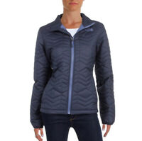 The North Face Women's Navy Bombay Quilted Filled Zip Jacket - Size XS
