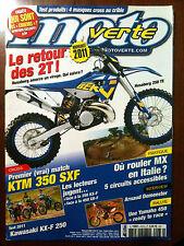 n°436 MOTO VERTE; Match KTM 350 SXF/ A. Demeester/ Husaberg 250 TE/ Masque Cross