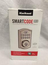NEW! Kwikset SmartCode 913 Touchpad Electronic Deadbolt 99130-002