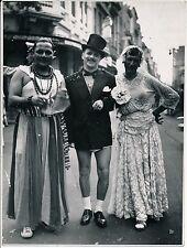 Francisco ASZMANN - BRESIL c. 1945 - Travesti Carnaval Rio de Janeiro - P 1516