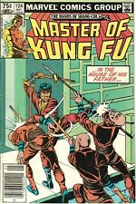 Master of Kung-Fu #124 VF/NM (9.0) 1983 RARE $0.75 Canadian Price Variant!