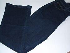 Ladies Lee Slender Secret Lower on the Waist Boot Cut Jeans Size 6 Petite Dark